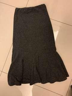 韓妞棉質魚尾裙