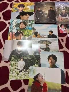 Goblin photo essay with postcards (Gong Yoo, Lee Dong Wook)