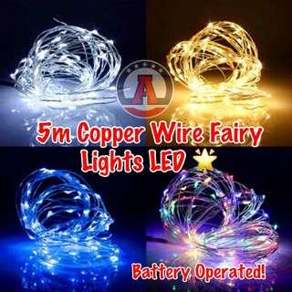 🚚 🔹Battery Operated Fairy Lights LED 🌟