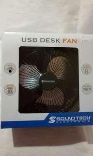 """🚚 SOUNDTEOH 7"""" USB DESK FAN"""