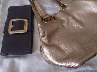 MK Bundle Original MICHAEL KORS Clutch and Shoulder Bags for 4,500