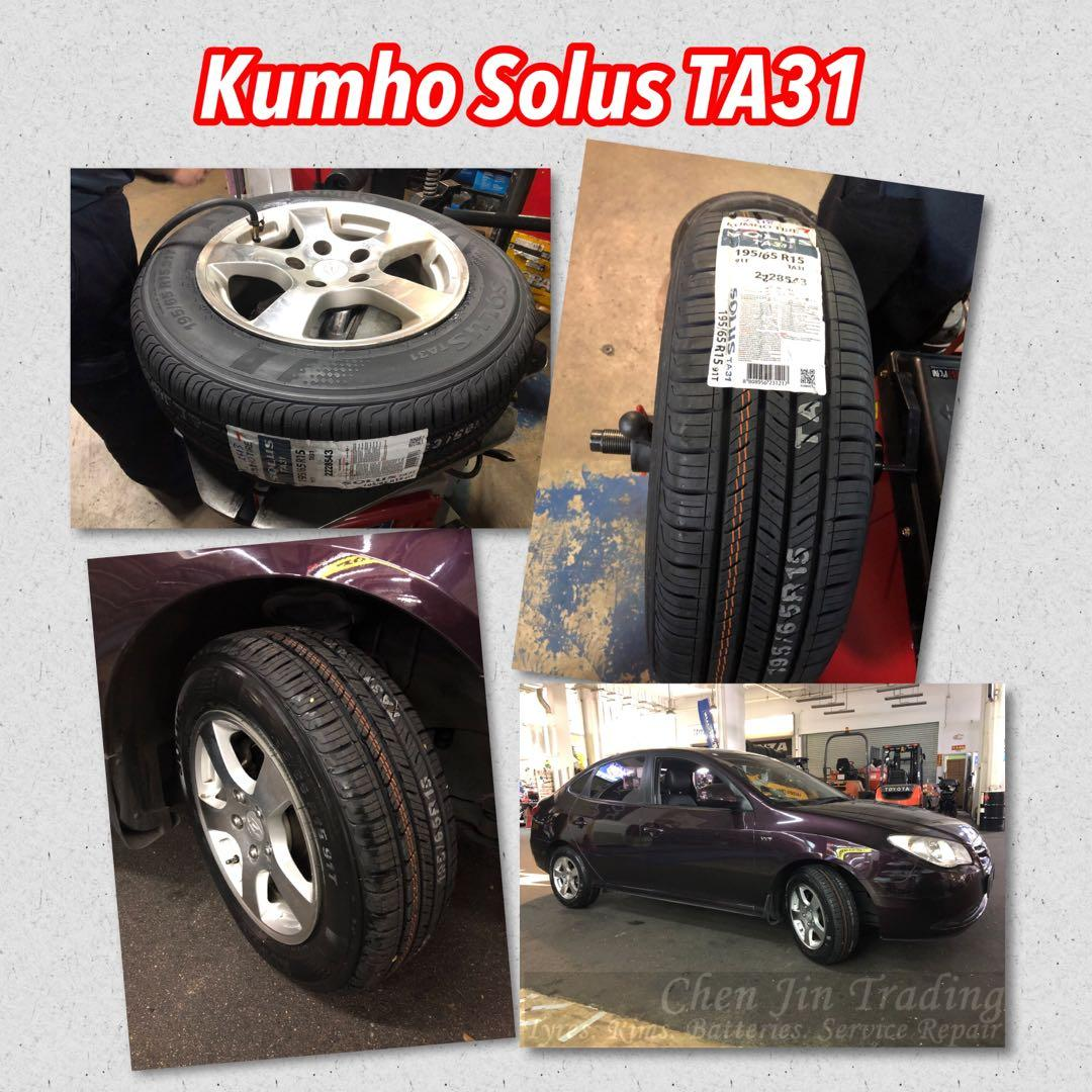 195/65R15 Kumho Solus TA31 new tyre, promotion price, new arrival, wholesale price