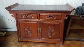 Imported Cabinet/Table with Drawers/Cabinets