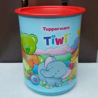 Rare item Tiwi one touch canister