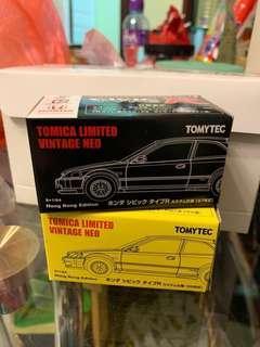 Tomytec Honda Civic type R Ek9