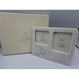 迪士尼 小飛象 陶瓷相架 w/box