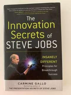 The innovation secrets of Steve Jobs Hard Cover