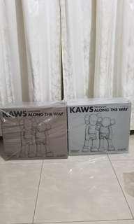 *已到貨* KAWS ALONG THE WAY (Grey) Figure