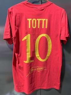 AS Roma Hall of Fame TOTTI 10 羅馬托迪 T-shirt