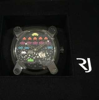 Rare Romain Jerome Moon Invader Space Invaders Pop Limited Edition
