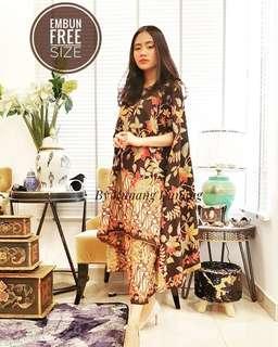 Designer Batik Dress Brand New