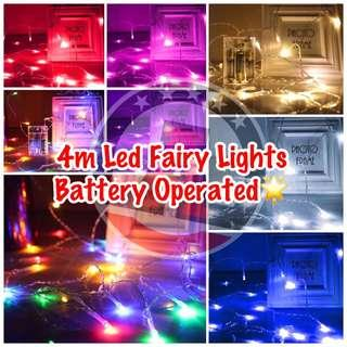 🚚 🔹Fairy Lights LED Battery Operated 🌟