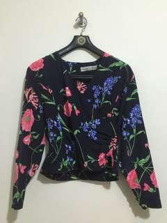 Floral blouse from thailand