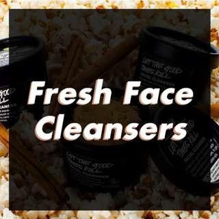 OPEN JASTIP LUSH Fresh Face Cleanser