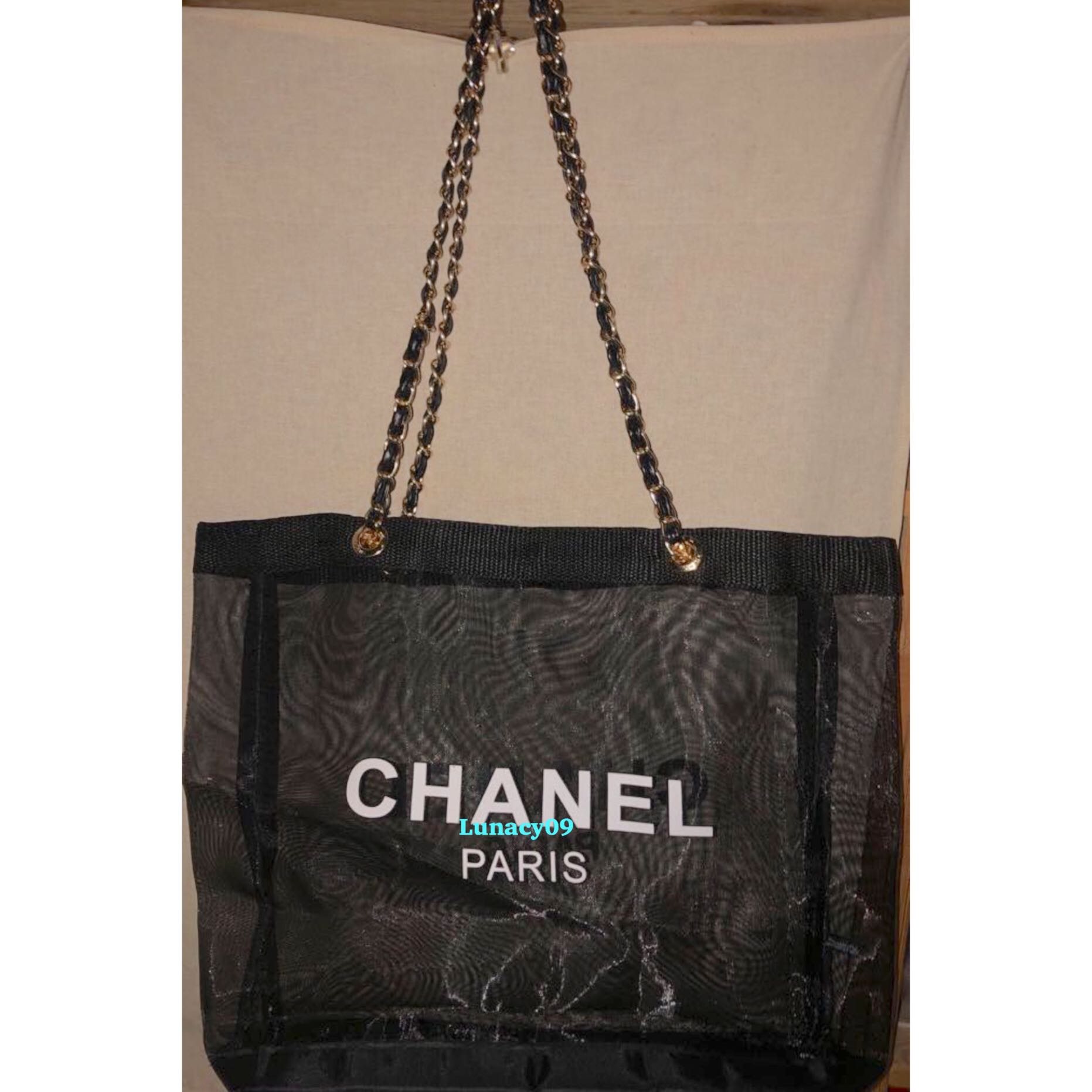 fccafca001e2 2019 Chanel Precision Makeup Summer Edition Mesh Tote Bag, Luxury, Bags &  Wallets, Handbags on Carousell