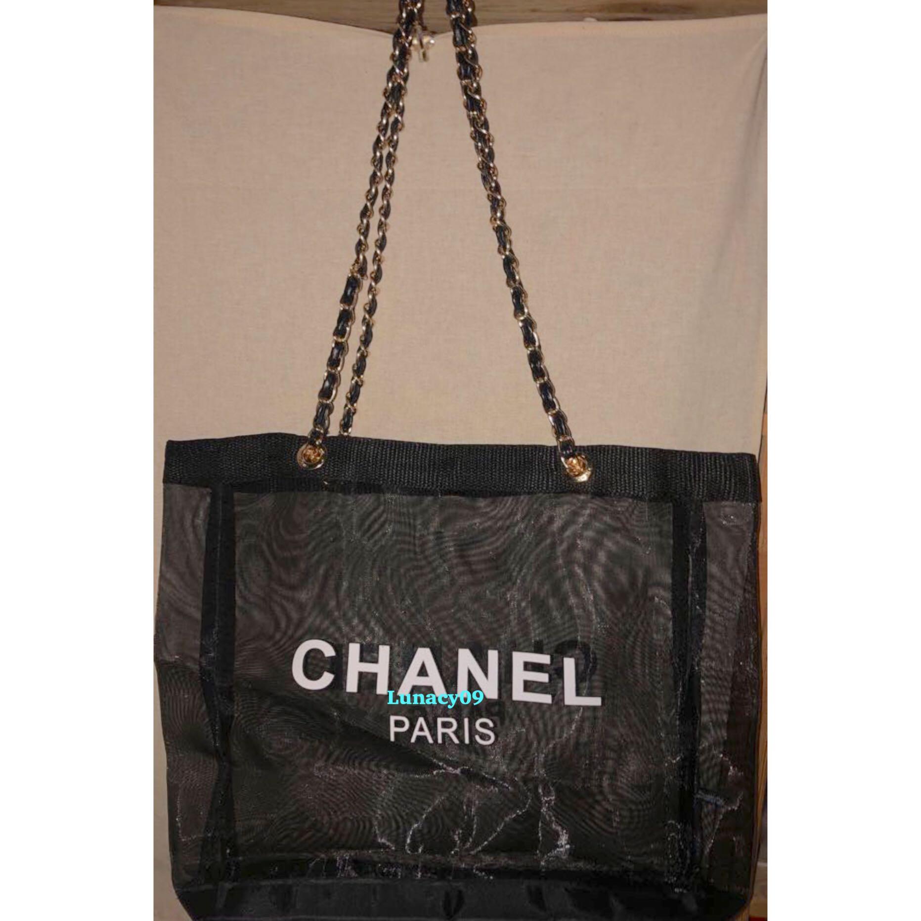 be7e4ef9fdb6cd 2019 Chanel Precision Makeup Summer Edition Mesh Tote Bag, Luxury, Bags &  Wallets, Handbags on Carousell