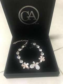 Pink hand Chain Jewellery