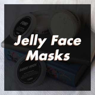 OPEN JASTIP LUSH Jelly Face Mask