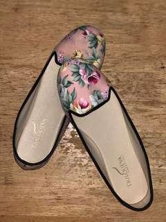 Doll Shoes Pink (Floral)