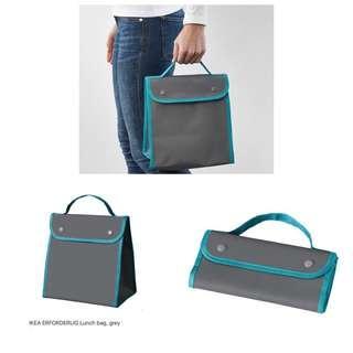 Ikea - Erforderlig Lunch Bag, Grey (13x3x24cm)