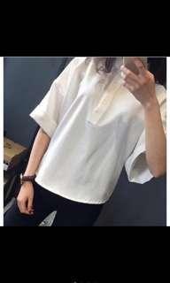 🚚 [正到沒朋友]白色襯衫 #半價衣服市集