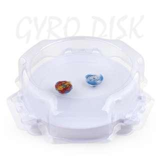 Beyblade battle arena stadium with wall enclosure