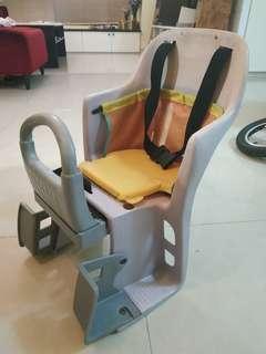 自行車後座孩童安全座椅