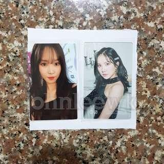 🚚 [INSTOCKS] Gfriend Time For Us Photocards