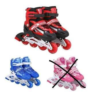 Kids Favourite Adjustable Inline Roller Skate Flash Wheels Roller Blade
