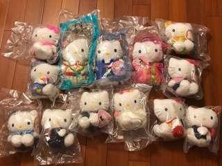 Hello Kitty x McDonald's 麥當勞限量玩偶(13款)