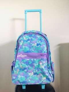 Free Shipping on Selected area Smiggle Trolley BackPack Mermaid Design