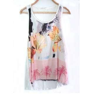 Zara Floral Sleeveless
