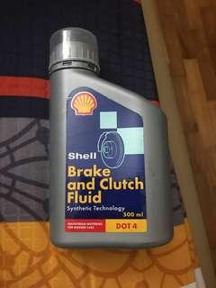 Brake clutch fluid