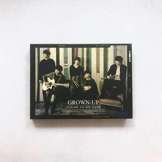 FTisland 4th mini album [ Grown-up ] CD + DVD