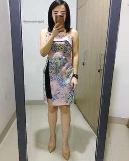SBS - 033 BAJU IMPORT MINI EVENING DRESS PUSPA PREMIUM QUALITY