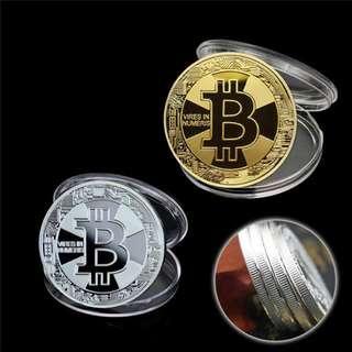 買一送一 Bitcoin ETH Dash Dogecoin LTC NEO QTUM Ripple XMR ZEC Collection Coin