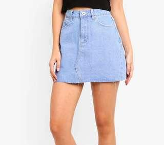 [ BNWT ] Denim Skirt #STB50