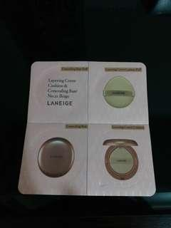 Layering cover cushion and concealing base