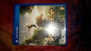 PS Vita PSVita Uncharted Golden Abyss JP Dual Language