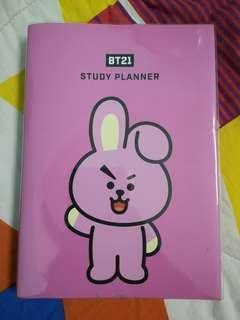 BT21 STUDY PLANNER