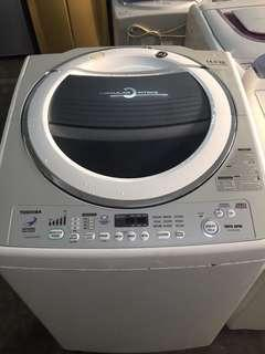 WASHING MACHINE Toshiba 14kg Refurbished Automatic Top Load Mesin Basuh