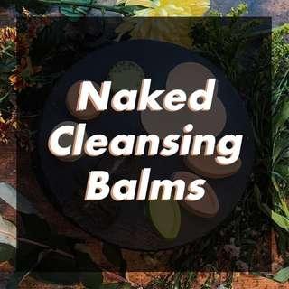 OPEN JASTIP LUSH Naked Cleansing Balm