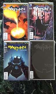 🚚 Batman new 52 #22 - 25  (#23 Variant cover)