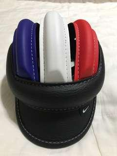 Nike bicycle safety soft helmet(mix red white and dark blue)