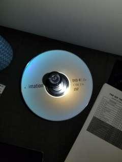 Imation blank dvd-r 4.7gb