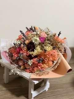🚚 Colourful dried flowers bouquet