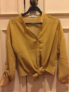 🚚 TEMT Yellow Blouse