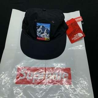 🚚 Supreme x TNF Cap (Black)