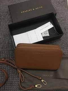 Charles & Keith sling wallet bag