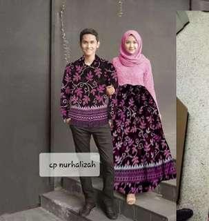 Cauple batik brukat